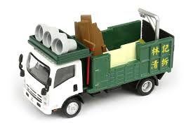 100 Demolition Truck Tiny City 94 Diecast Model Car Isuzu NPR