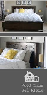 Ana White Headboard King by Ana White Cassidy Bed King Diy Projects
