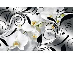 fototapete 1831 vexxxl vlies orchideen dekor 416 x 254 cm