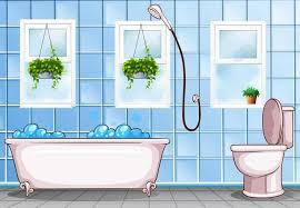 bathroom with bathtub and toilet 669197 free