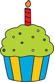 Birthday Cupcake Clip Art Birthday Cupcake Image