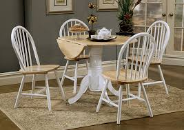 Natural Drop Leaf Table With Empire BaseCoaster Furniture