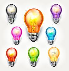 light bulb different color light bulbs encapsulated postscript