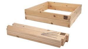 4x4x11 Raised Garden Bed Kit MinifarmBox