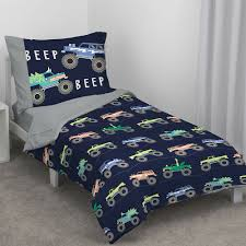100 Truck Toddler Bedding Carters Monster 4 Piece Set Wayfair