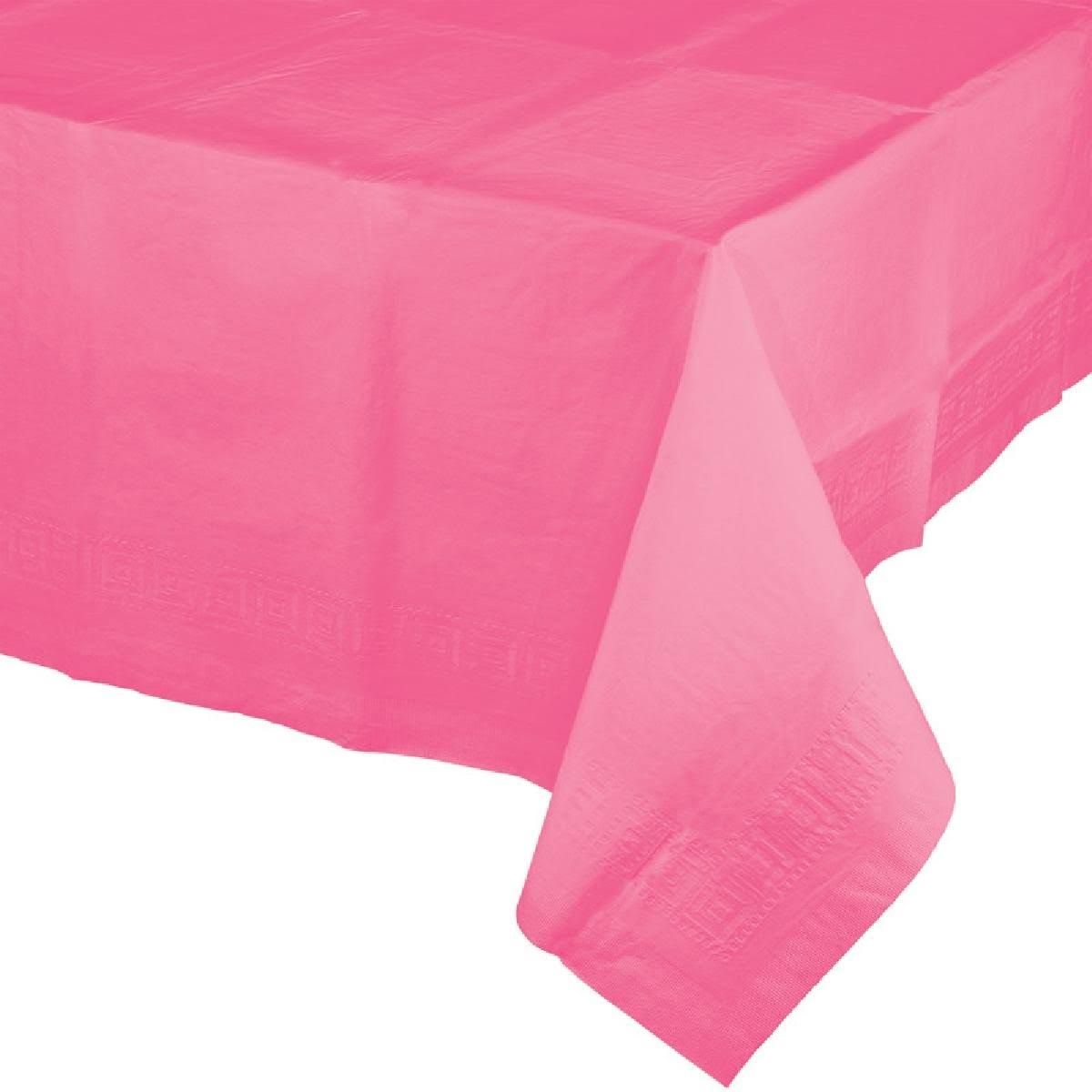 "Creative Converting Paper Banquet Table Cover - Candy Pink, 54"" x 108"""