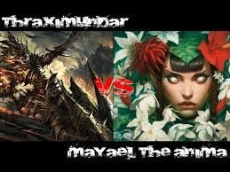 Mtg Thraximundar Edh Deck by Duel Commander Thraximundar Vs Mayael The Anima French Rules