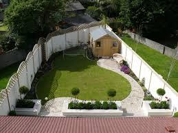 Triangular Garden Design