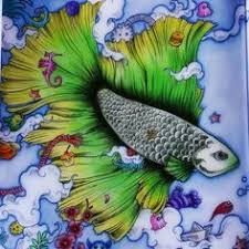 Fish1 From Animorphia Coloured By Zsuzsicolouring Instagram Adult ColoringColouringColoring BooksJournal InspirationTherapyWonderland Fish