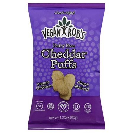 Vegan Rob's Puffs - Cheddar, 1.25oz