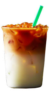 Cold Milk Marked By Rich Full Bodied Espresso Shots Finished With A Caramel Crosshatch Sweet And Creamy Layers Notes Of Vanilla