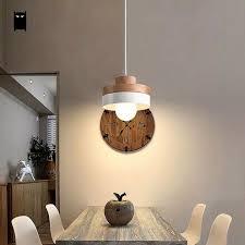 schwarz weiß eichenholz eisen runden platz pendelleuchte kabel fixture moderne nordic japanischen hängen deckenleuchte esszimmer cafe