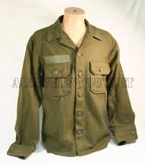 new unissued genuine us military wool field shirt cold weather