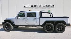 100 Custom Trucks Unlimited Bonkers 6x6 HemiPowered Jeep Wrangler Can Be Yours For 270k