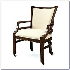 Creative Wheeled Dining Chair Oak Dining Room Chairs With Casters