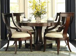 Elegant Round Dining Table Set Modern Room Sets Inside Tables For