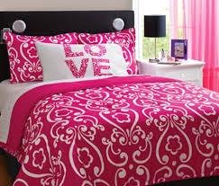 Zspmed of Pink Bed Sets