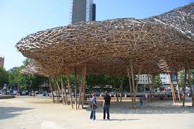 100 Arne Quinze Cityscape Wooded Sculpture By BrusselsPicturescom