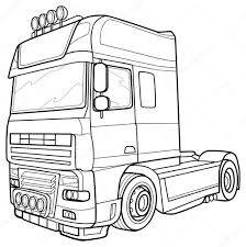 Sketch Truck — Stock Vector © Kopirin #58287185 Drawing Truck Transporting Load Stock Illustration 223342153 How To Draw A Pickup Step By Trucks Sketch Drawn Transport Illustrations Creative Market Of The A Vector Truck Lifted Pencil And In Color Drawn Container Line Photo Picture And Royalty Free Semi Idigme Cartoon Drawings Simple Dump Marycath Two Vintage Outline Clipart Sketch