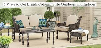 5 Ways To Get British Colonial Style Outdoors Bombay