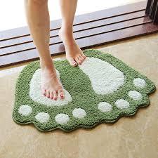40x60cm günstige füße gedruckt tapetes bad matte für wohnzimmer badezimmer teppich matten großhandel teppiche freies verschiffen