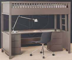 lit mezzanine 1 place avec bureau lit mezzanine quax quarre