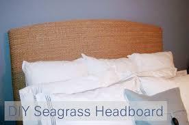 the murphy s diy seagrass headboard