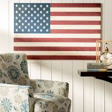 Three Posts U S Constitution American Flag Graphic Art on