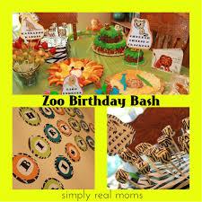 Zoo Birthday Bash 1 Zoo Pinterest Zoo Birthday Birthday Bash