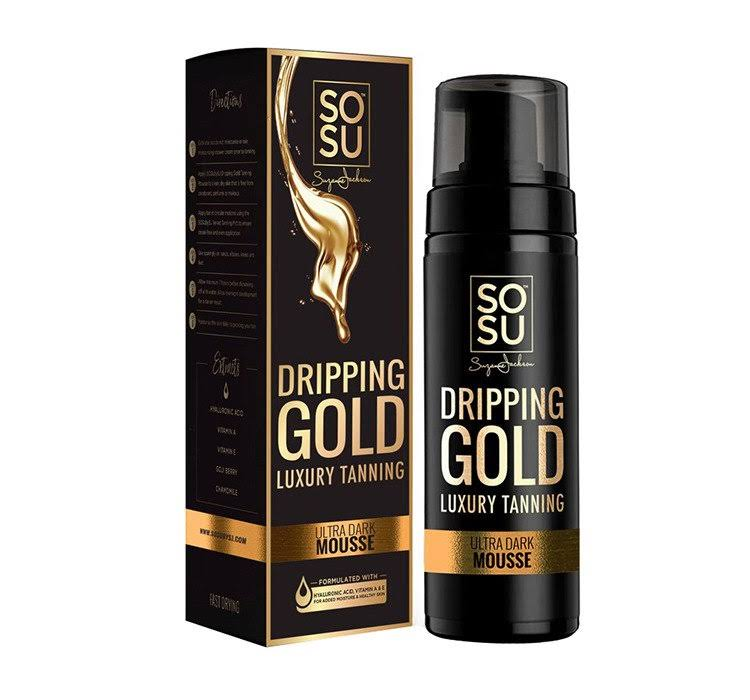 SOSU by Suzanne Jackson Dripping Gold Luxury Tanning Mousse Ultra Dark