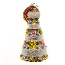 Dillards Christmas Tree Ornaments by Christopher Radko Bridal Centerpiece Christmas Ornament