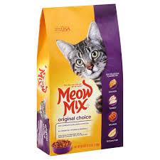 high protein cat food meow mix original choice cat food shop at heb