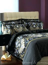 Plum And Bow Curtains Uk by Black And Cream Duvet Covers Uk Plum Bow Distressed Damask Duvet