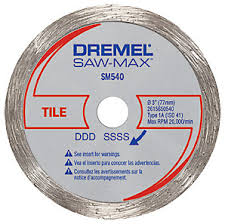 dremel saw max tile cutting blade the home depot canada