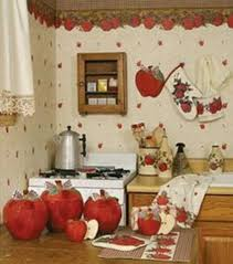 Must Love Apples Unique Kitchen Decor By Theme For A Rustic Look