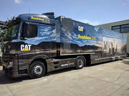 Mercedes-Benz Truck For The Cat Roadshow 2018 | Mercedes-Benz ...
