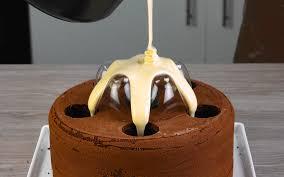 toller hingucker schoko kuchen mit spezial optik