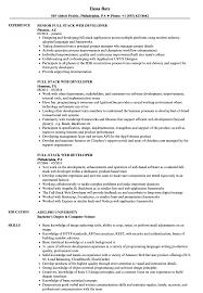 Full Stack Web Developer Resume Samples   Velvet Jobs Web Developer Resume Examples Unique Sample Freelance Lovely Designer Best Pdf Valid Website Cv Template 68317 Example Emphasis 2 Expanded Basic Format For Profile Stock Cover Letter Frontend Samples Velvet Jobs