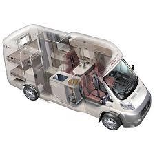Ram Promaster Camper Van Interior Layout