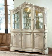 Black Dining Room Hutch China Cabinet Glamorous Buffet Hutch In