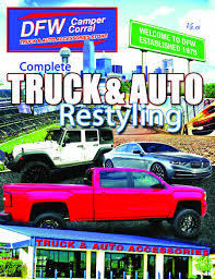 DFW-Camper-Corral-Retail-Catalog-2015 Photos Pickup Truck Accsories Dallas Tx Dfw Camper Corral Best Frontier Gearfrontier Gear Custom Jeep Cversions By Pdm Buick Gmc Photo Gallery Discount Hitch Arlington Resource Led Lighting Denton Lewisville Tx Truxx Outfitters Youtube Vehicle Josephs Auto Toy Store Camo Wraps Zilla Is The Best Local Source Rad Rides Lifted 4x4 Builds With 4wd Aftermarket