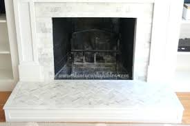 how to install a marble fireplace surround marble tiled fireplace