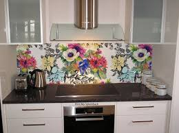 Digitally Printed Glass Splashback For Kitchen