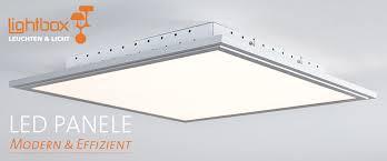 led panel deckenleuchte dimmbar per fernbedienung 42x42cm 2500 lumen 2700 6500 kelvin aus metall kunststoff in alu