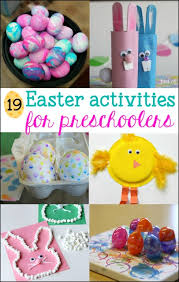 19 Fun Easter Activities For Preschoolers