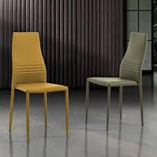 6 stapelbare stühle aus farbigem öko leder modernes design für wohnzimmer merida
