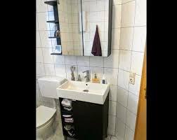 bad set ikea unterschrank spiegelschrank waschbecken in
