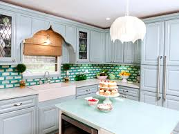 Teal Green Kitchen Cabinets by Kitchen Cabinet Colors And Finishes Hgtv Pictures U0026 Ideas Hgtv