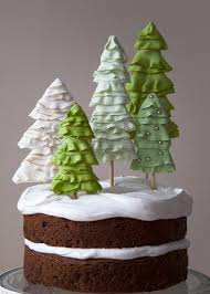 These Cone Trees Are By Just A Taste And Quick Easy You Could Even Fill Them With Candy Before Plopping On The Cupcakes