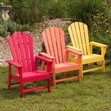 Red Adirondack Chairs Polywood by Polywood South Beach Recycled Plastic Adirondack Chair Hayneedle